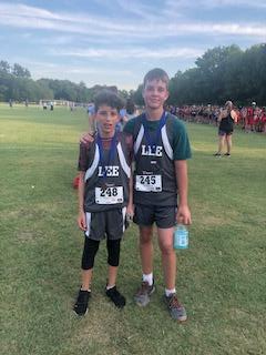 seventh grade cross country runners