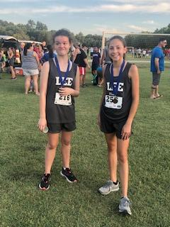 eighth grade girl runners