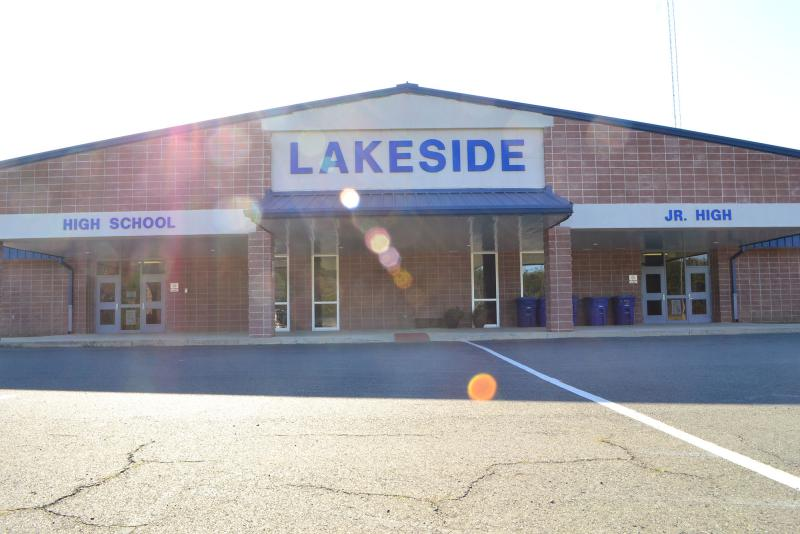 Landscape View facing Lakeside Jr/Sr High School