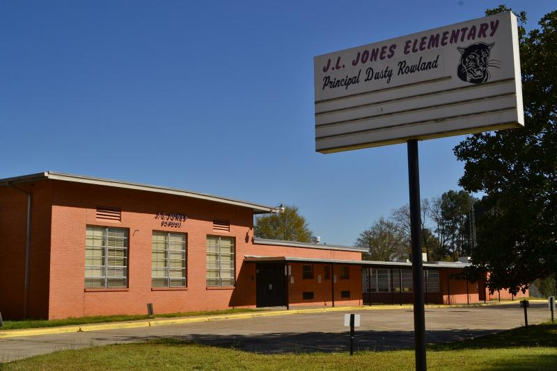 Landscape View facing J. L. Jones Elementary School