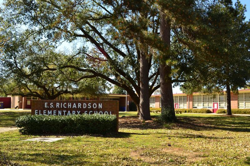 Landscape View facing E. S. Richardson Elementary School