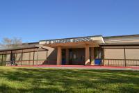 Landscape View facing J. E. Harper Elementary School