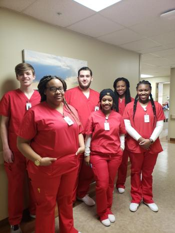 Hands-On Experience for CNA Students