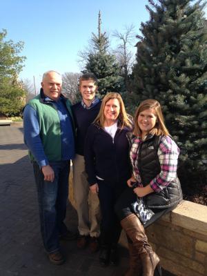 Doug, Brady, Lori & Bailey
