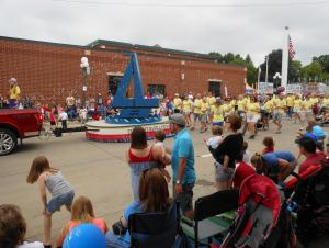 Fourth of July Parade in Clear Lake, IA