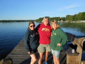 My sisters and me in Minnesota