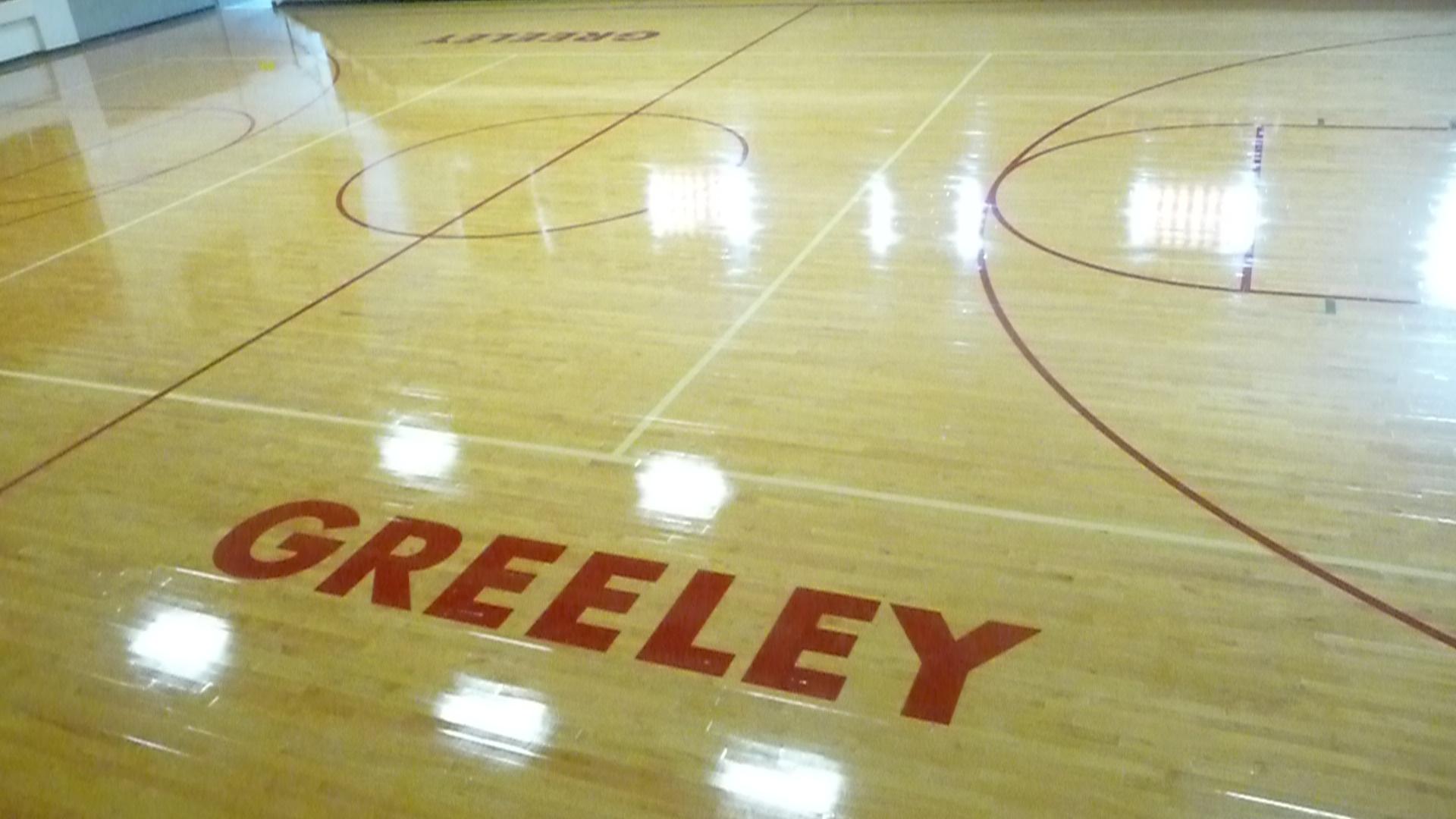 Greeley Gym Floor