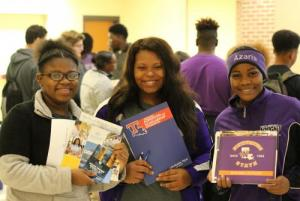 College Fair Students 4