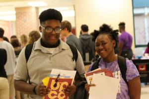 College Fair Students 6