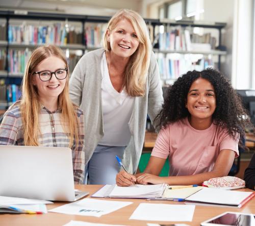 woman teacher summer 2021