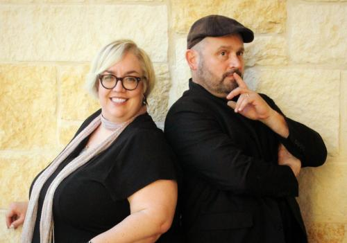 ESSDACK consultants and Keynote speakers Ginger Lewman and Kevin Honeycutt