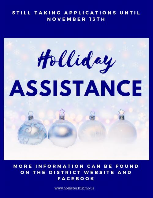 Holliday Assistance