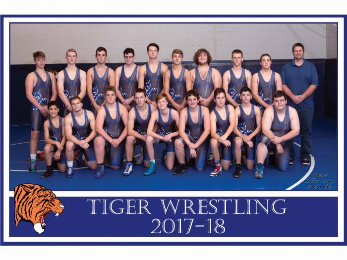 2018 Wrestling Team Picture