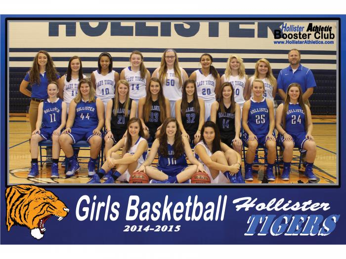 2014-2015 Lady Tiger Basketball
