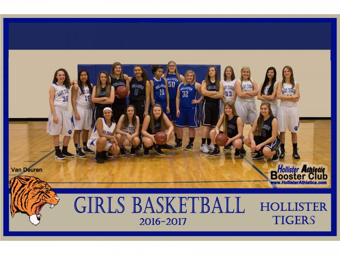 2016-2017 Lady Tiger Basketball