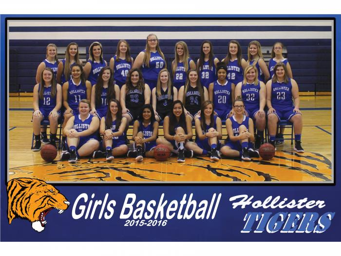 2015-2016 Lady Tiger Basketball