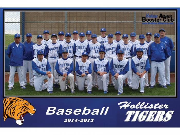 2014-2015 Tiger Baseball