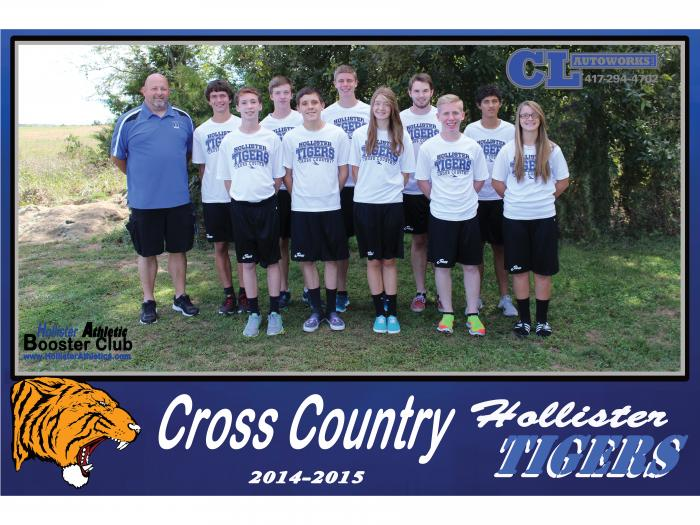 2014-2015 Tiger Cross Country