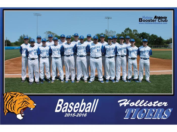 2015-2016 Tiger Baseball