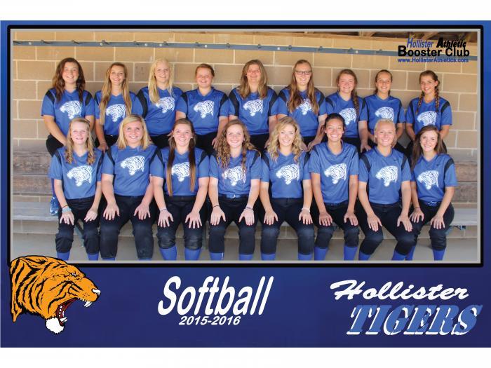 2015-2016 Lady Tiger Softball