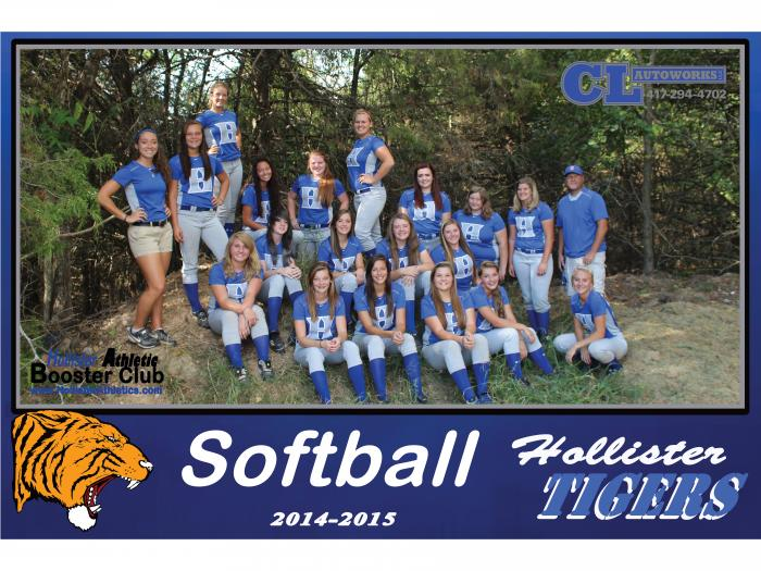 2014-2015 Lady Tiger Softball