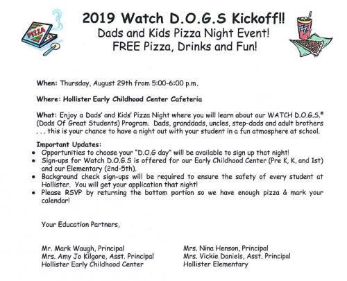 Watch dog flyer
