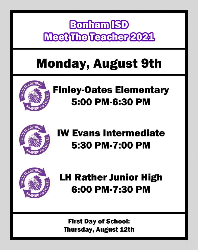 Meet the Teacher 2021