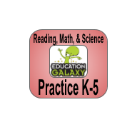 Education Galaxy Reading, Math, & Science Practice Image