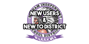 New Users New to District