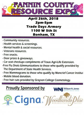 Fannin County 2018 Resource Expo