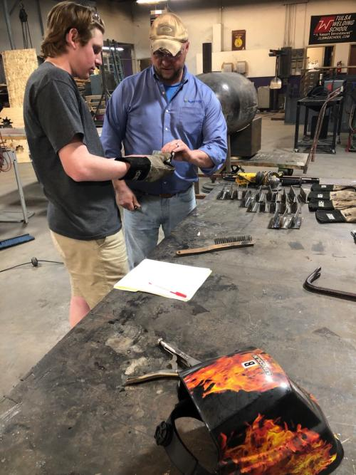 Bonham High School Student Earn Welding Certifications