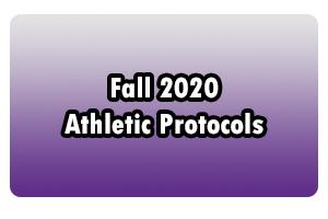 Fall 2020 Athletic Protocols
