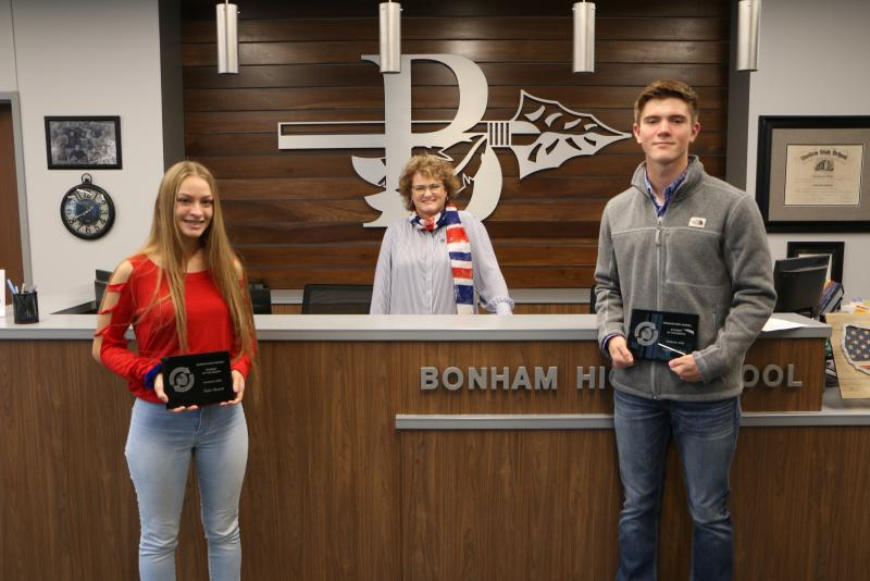 BHS November 2020 Senior of the Month
