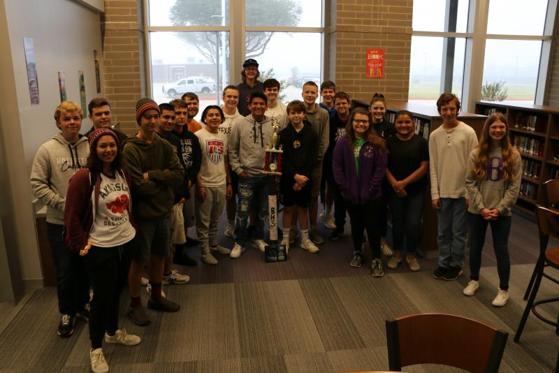 Bonham HS Robotics Competition: 1st Place & Advancement to State!