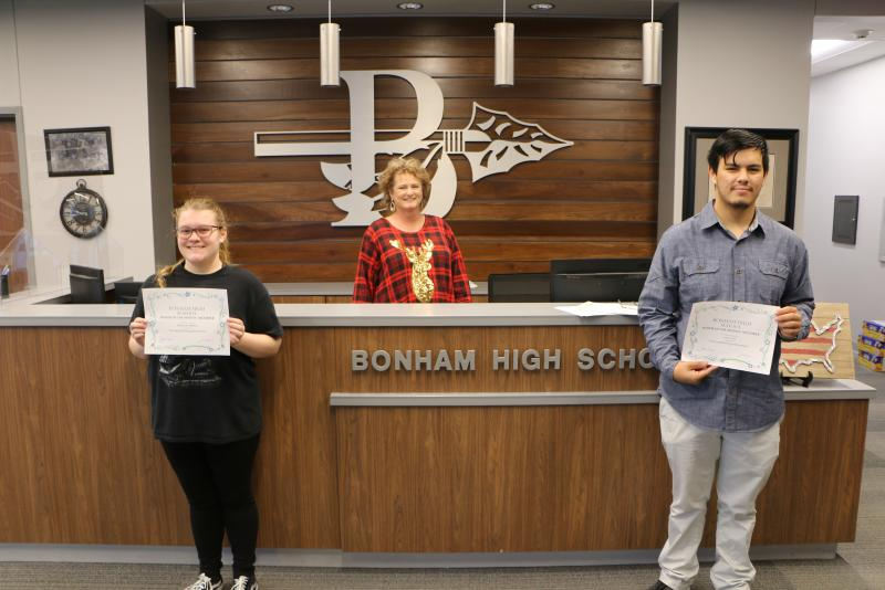 BHS December 2020 Senior of the Month