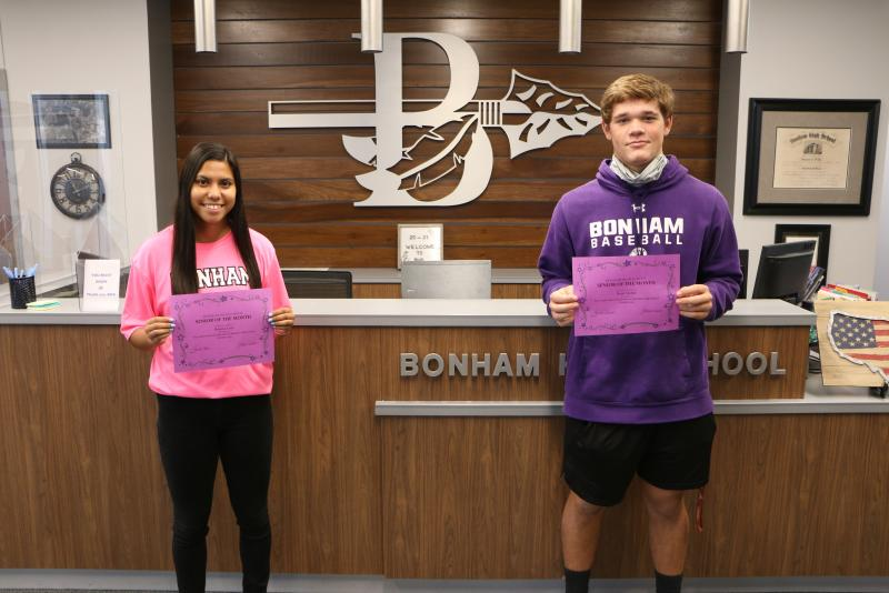 BHS October 2020 Senior of the Month