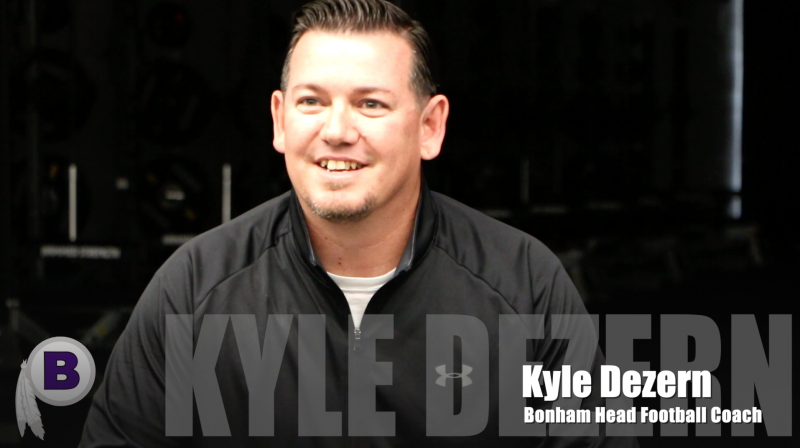 Introducing Bonham HS Head Football Coach: Kyle Dezern