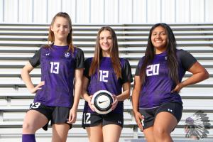 Lady Warrior Soccer Seniors