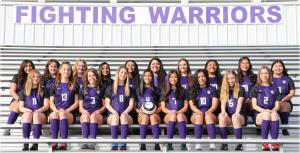 Lady Warrior Soccer Team Photo