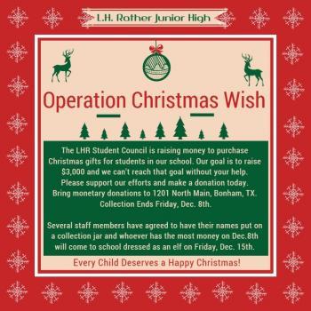 Operation Christmas Wish