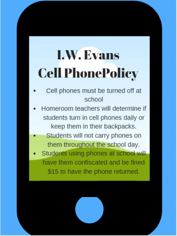 IW Evans Cellphone Policy