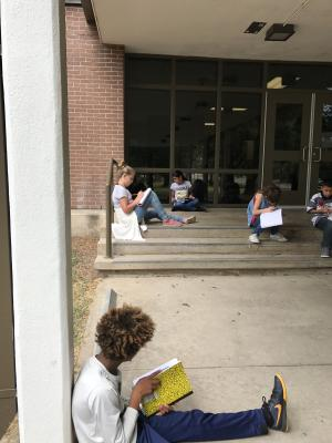 Wow Wednesday sensory poetry outside!