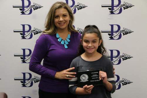 Jan. Student of the Month