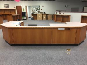 Make Way for Carpet: Empty Circulation Desk