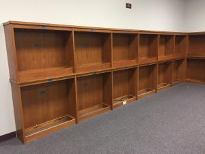 Make Way for Carpet: Empty Shelves