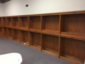 Make Way for Carpet: Empty Shelves