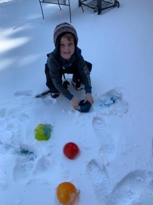 Love the ice marbles