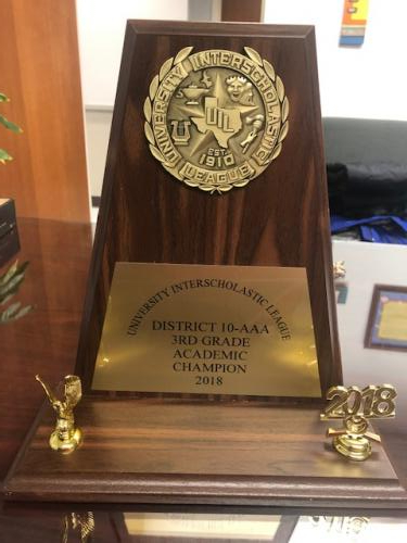 UIL Academic Championship Trophy