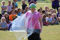 Ms. Fox is dressed for SLIME!