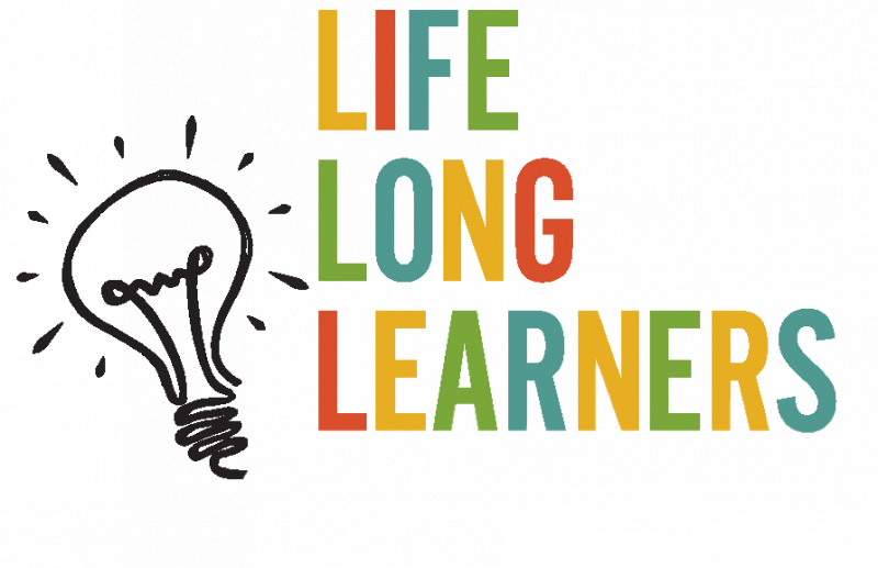 An Image showing Life Long Learning